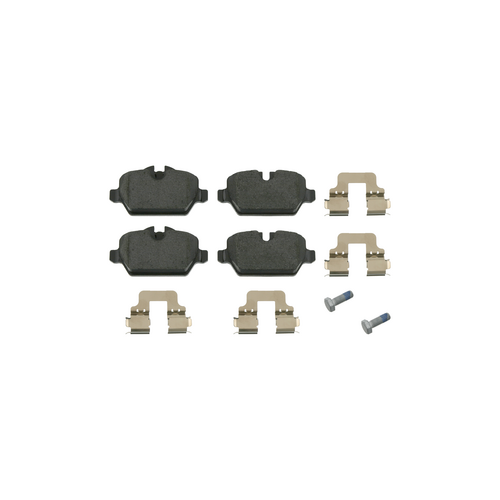 GALFER B1G10208442 (34216767145 / 34216767146 / 34216774417) колодки зад.BMW (БМВ) 1 e87 116-120 Mini (Мини) cooper =>2007
