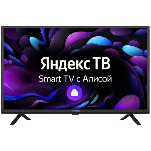 Фото - Телевизор Hyundai H-LED32FS5003 32 (2021) на платформе Яндекс.ТВ, черный антенна hyundai h tai260
