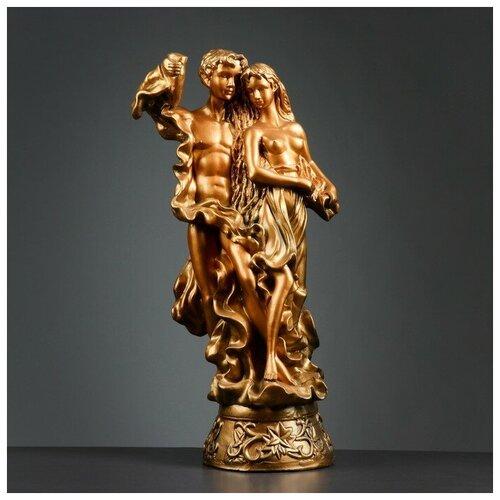 Фигура Адам и Ева большая бронза 27х42х70см фигура адам и ева большая бронза 27х42х70см
