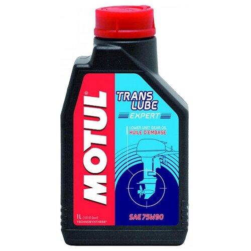 Масло трансмиссионное Motul Translube Expert, 75W-90, 1 л масло трансмиссионное motul motylgear 75w 90 75w 90 20 л