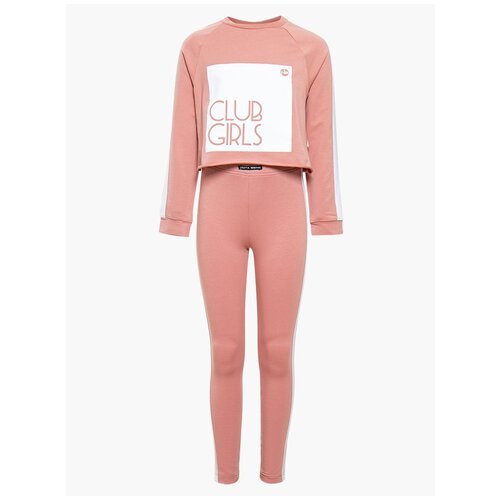 Спортивный костюм Nota Bene размер 128, розовый