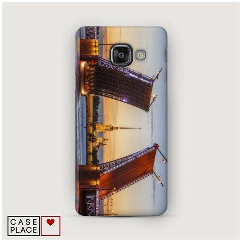 Чехол Пластиковый Samsung Galaxy A5 2016 Разведенные мосты в СПб 1