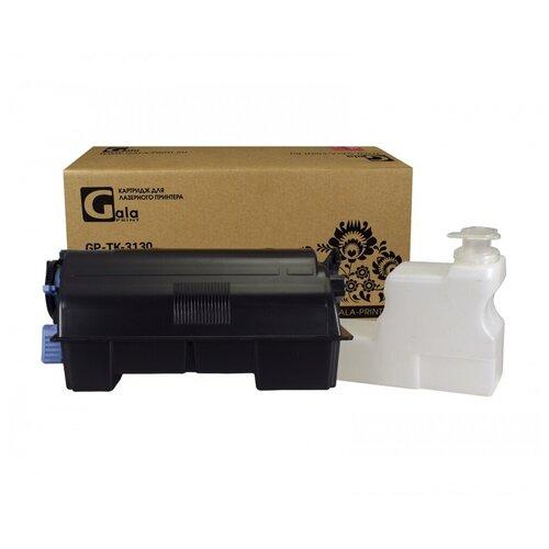 Картридж TK-3130 с бункером отработанного тонерa для принтеров Kyocera EcoSys-M3550, 3560 / FS-4200, 4300, черный (black), для лазерного принтера, совместимый