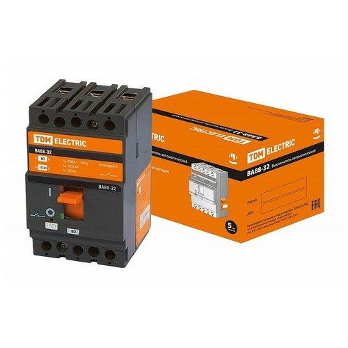 Автоматический выключатель ВА88-32 3Р 80А 25кА TDM, цена за 1 шт