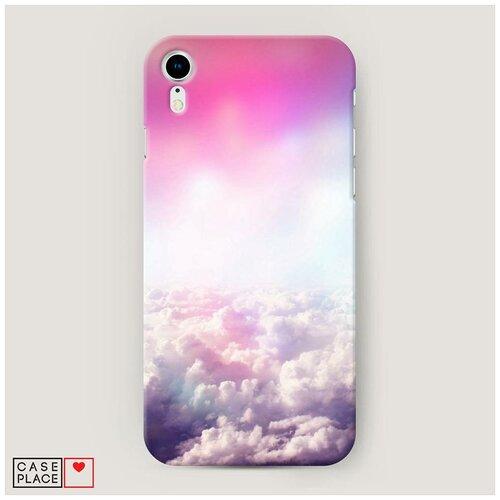 Чехол Пластиковый iPhone XR (10R) Постельные облака