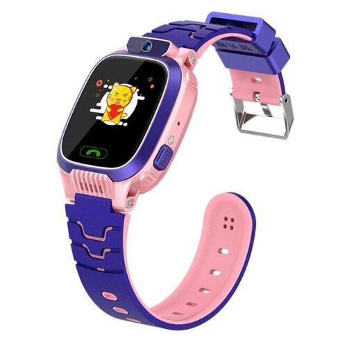 Детские умные смарт-часы Smart Baby Watch Y79 2G, с поддержкой GPS, HD камера, SIM card (Розовый) детские умные часы телефон с gps smart baby watch df25 голубые