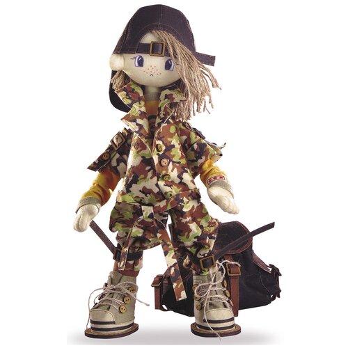 К1042 Набор для создания каркасной текстильной куклы 'Сафари. Брат 2' 50см