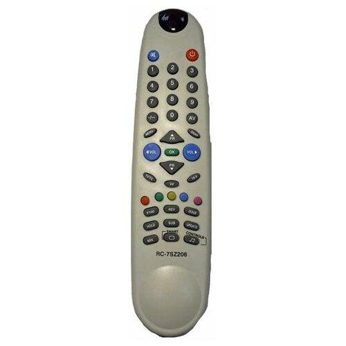 Фото - Пульт ДУ Beko 16.9 (Horizont RC 7SZ206 ,RC 6-7-5Т) TV пульт ду универсальный irc beko 47f tv