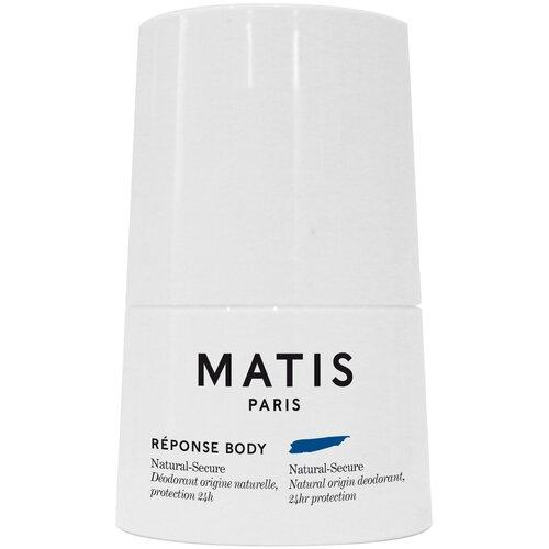 Matis REPONSE BODY Дезодорант с натуральными компонентами и с уровнем защиты 24 часа, 50 мл