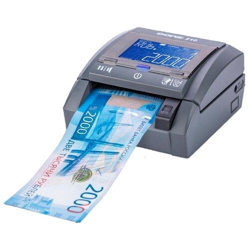 Автоматический детектор банкнот DORS 210 Compact с АКБ FRZ-046949