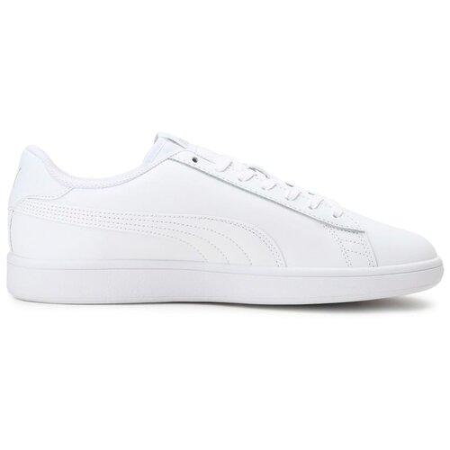 Кеды PUMA Smash v2 L размер 9, puma white/puma white кроссовки женские puma st runner v2 sd цвет розовый 36527906 размер 3 5 35