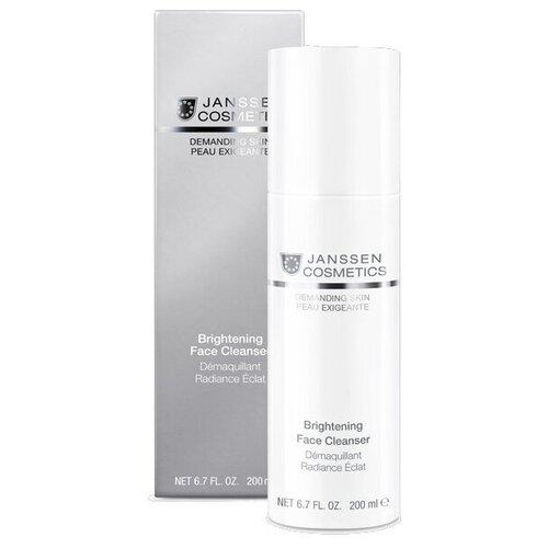 Эмульсия JANSSEN Очищающая для сияния и свежести кожи, 200 мл эмульсия для тела janssen cosmetics isoflavonia с фитоэстрогенами 200 мл