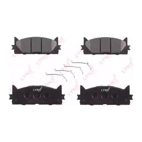 Дисковые тормозные колодки передние LYNXauto BD-7530 для Toyota Camry, Lexus ES (4 шт.)