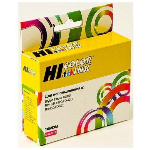 Фото - Картридж Hi-Black (HB-T0553) для Epson Stylus Photo R240/RX420/RX520, M картриджи для принтера epson stylus photo rx420 rx425 rx520 r240 r245 с чипом 0551 4 шт