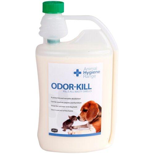 Уничтожитель запахов мочи, шерсти, выделений, табака, гари. Концентрат 1:50 - Odor-Kill, 1000 мл.