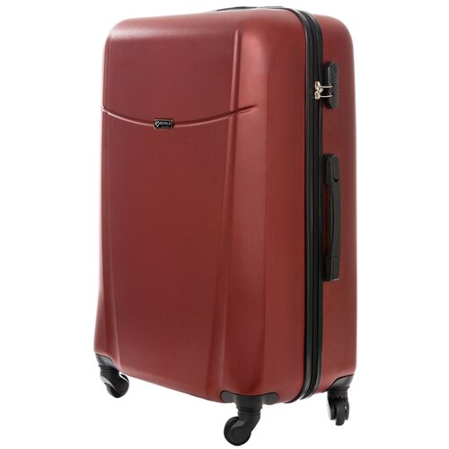 чемодан bonle премиум abs пластик салатовый размер s 55 см 37 л Чемодан Bonle, премиум ABS-пластик, Винный, размер L, 75,5 см, 91 л