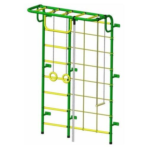 Спортивный комплекс Пионер С104М зелёно/жёлтый
