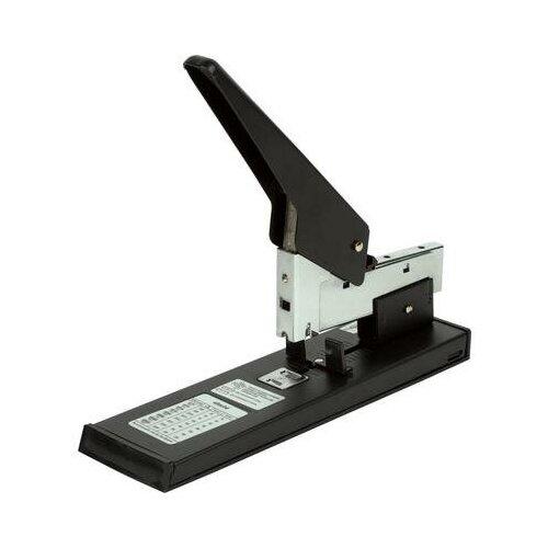 Купить Степлер мощный Attache Economy до 210 листов черный 1 шт., Степлеры, скобы, антистеплеры