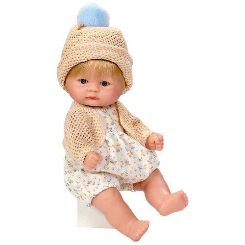 Asi ASI Кукла виниловая Аси (Asi) пупсик в вязаной шапочке (20 см)