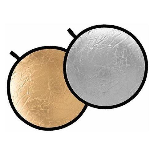 Фото - Светоотражатель Godox круглый, двухсторонний (золото/серебро), 110 см светоотражатель godox овальный 5 в 1 100x150 см