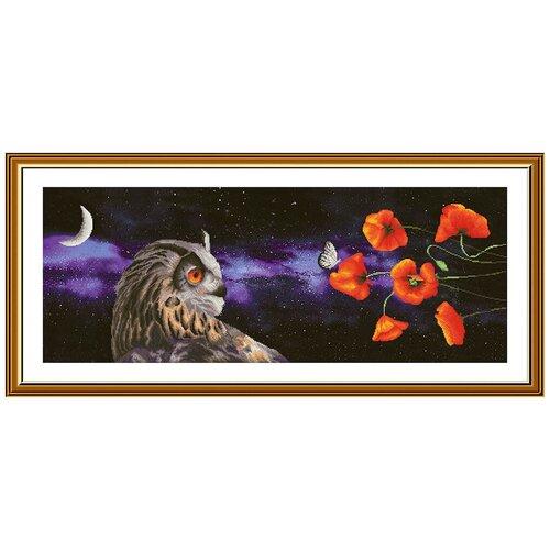 Купить Набор для вышивания Нова Слобода СР №21 1501 Сон бабочки 28.5 х 78 см 1 шт., NOVA SLOBODA, Наборы для вышивания