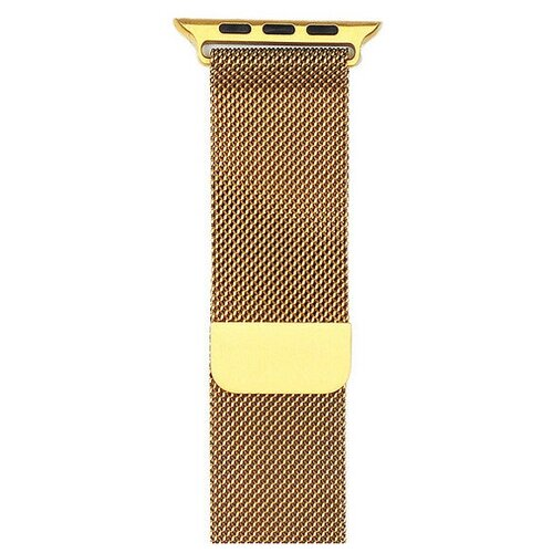 Аксессуар Ремешок Gurdini Milanese Loop для APPLE Watch 42mm Gold 904819 аксессуар ремешок gurdini milanese loop для apple watch 42mm rose gold 904820