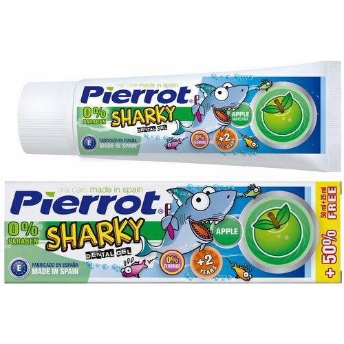 Зубная паста Pierrot Sharky яблоко, 75 мл недорого