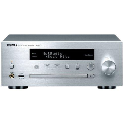 CD-ресивер YAMAHA CRX-N470 серебристый