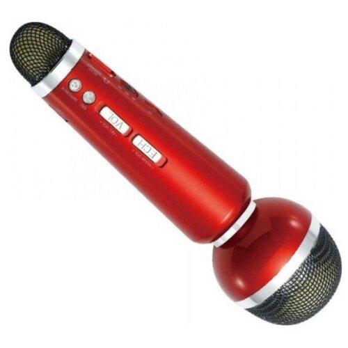 Беспроводной караоке-микрофон WS-1807 (красный)