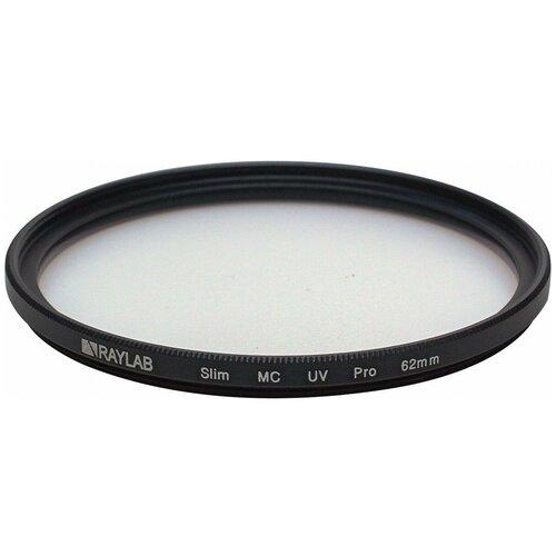 Фото - Фильтр защитный ультрафиолетовый RayLab UV MC Slim Pro 62mm фильтр защитный ультрафиолетовый raylab uv mc slim pro 62mm