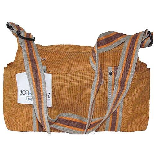Сумка-бочонок BODENSCHATZ, текстиль, оранжевый