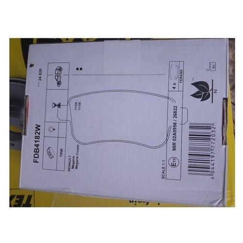 Комплект тормозных колодок Ferodo FDB4182W для Renault Fluence, GRAND SCENIC III JZ01 III, Megane III,IV, Scenic III chickenfoot chickenfoot chickenfoot iii