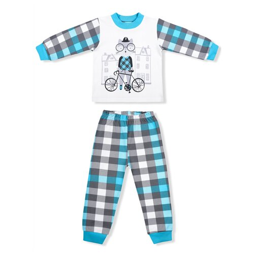 Фото - Пижама LEO размер 86, голубой пижама leo размер 98 красный