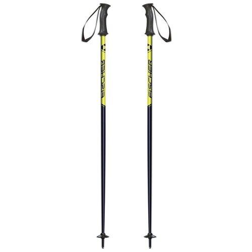 Палки для горных лыж Fischer RC4 PRO JR 2018-2019 75 black палки для горных лыж elan race