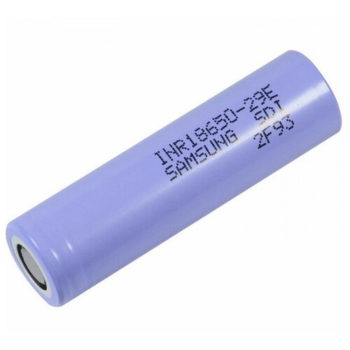 Фото - Аккумулятор Li-Ion 2800 мА·ч Samsung INR18650-29E, 1 шт. аккумулятор li ion 2600 ма·ч ansmann 18650 с защитой 1 шт