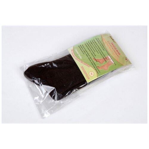 Носки согревающие Doctor из верблюжьей шерсти машинной вязки арт. 1, Коричневый, 31 (размер обуви 43-44)