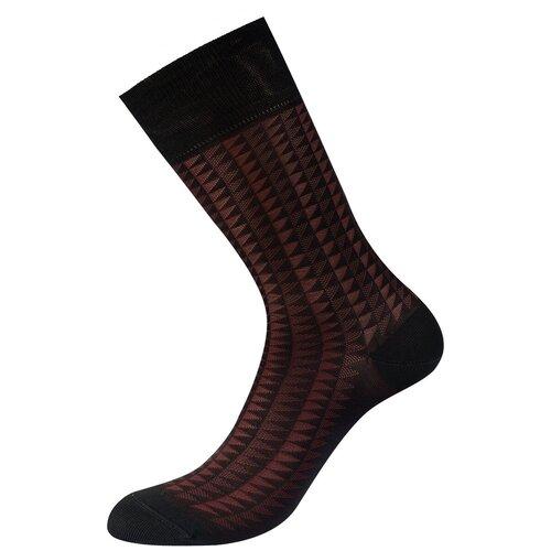 Фото - Носки Philippe Matignon Ombra, размер 45-47, nero носки philippe matignon phm701 размер 45 47 nero
