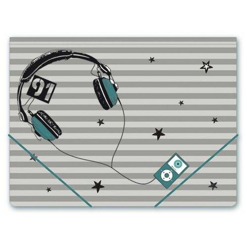 Феникс+ Папка для тетрадей Молодежный стиль, А4 серый