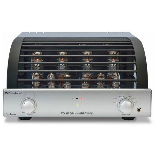 Интегральный усилитель PrimaLuna EVO 300 Integrated silver