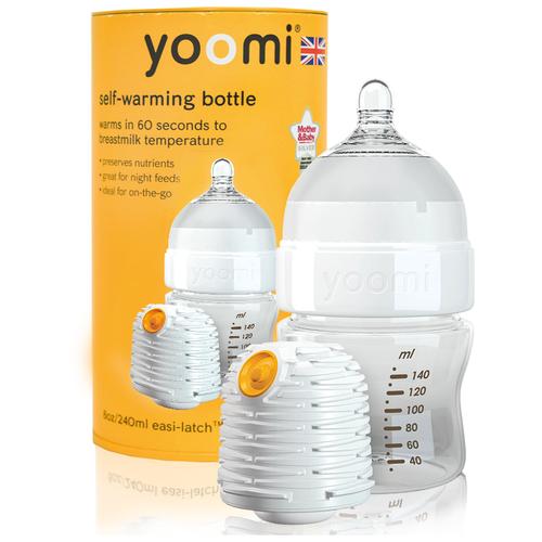 Бутылочка - подогреватель (автономный)детского питания Yoomi 140 мл