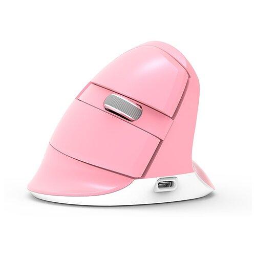 Мышь Delux KM-M618 Mini Pink