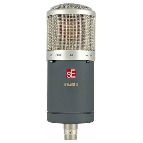 Микрофон sE Electronics Gemini II, серый/серебристый