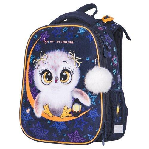 Купить Berlingo ранец Expert Owl dream, фиолетовый, Рюкзаки, ранцы