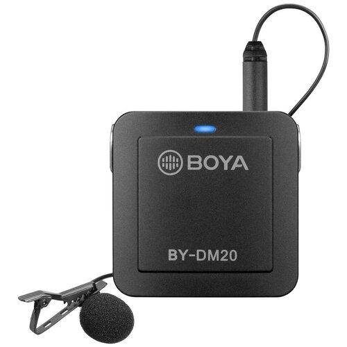 Комплект микрофонов BOYA BY-DM20, черный