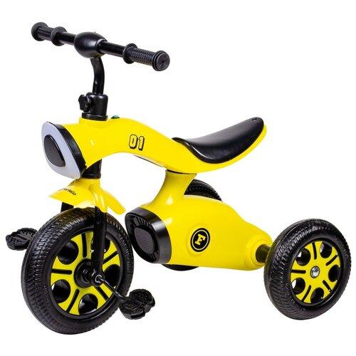 Купить Детский трехколесный велосипед Farfello S-1201, Желтый, Трехколесные велосипеды
