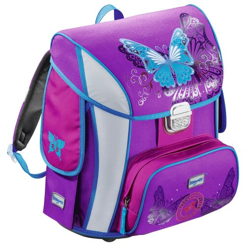 Купить Step By Step Ранец BaggyMax Simy Butterfly (129296), фиолетовый, Рюкзаки, ранцы