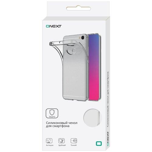 Фото - Панель силиконовая ONEXT для iPhone 5/SE clear телефон onext care phone 5 синий