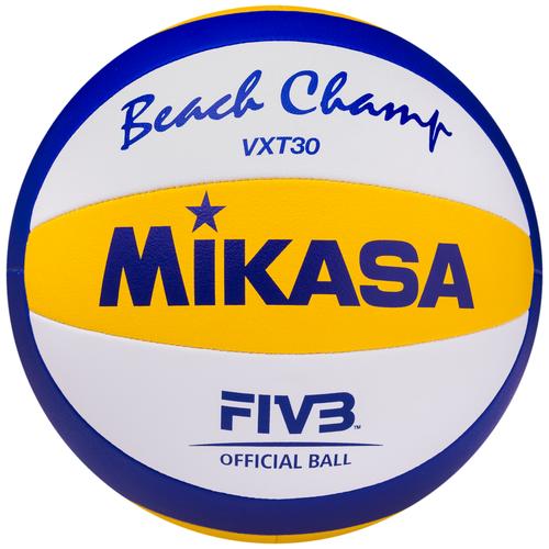 Волейбольный мяч Mikasa VXT30 синий/белый/желтый