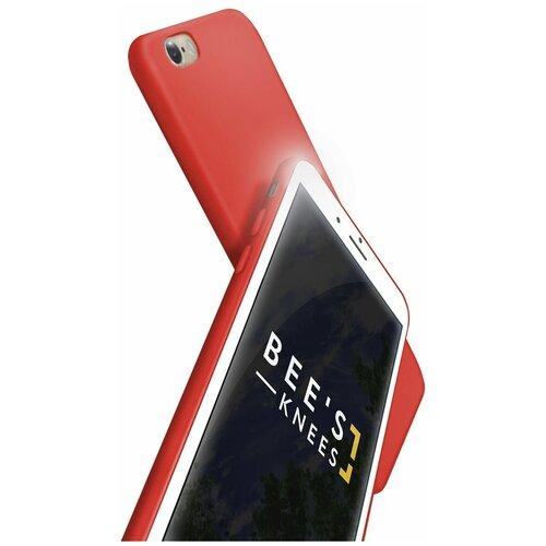 Чехол на айфон 6 / 6с . Накладка - бампер для iPhone 6 / 6s. Красный. Красный