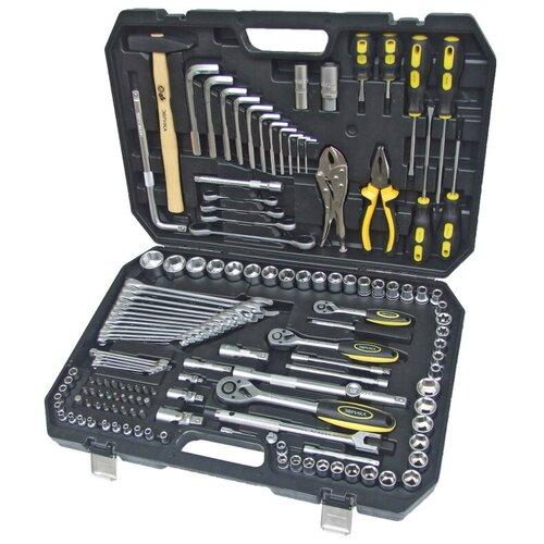 Фото - Набор инструментов Эврика ER-80142, 142 предм., черный/серебристый набор инструментов эврика er 31100 10 предм
